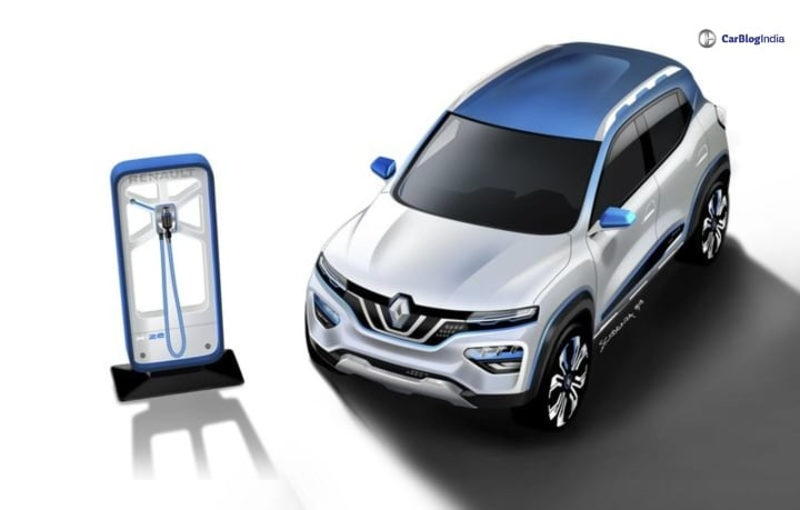 renault electric suv front image