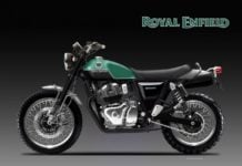 Royal Enfield 650 Scrambler Classic