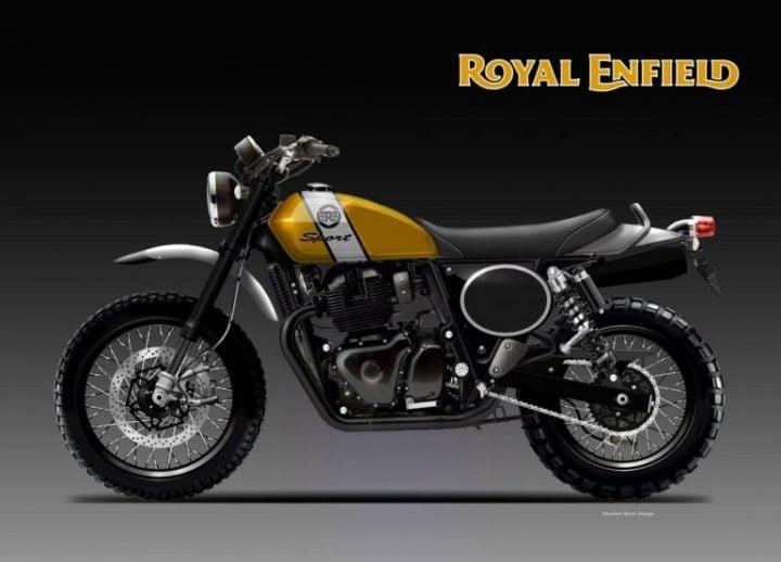Royal Enfield 650 Scrambler Sport