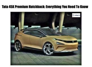 tata 45x premium hatchback front image