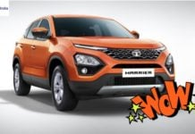tata harrier front image