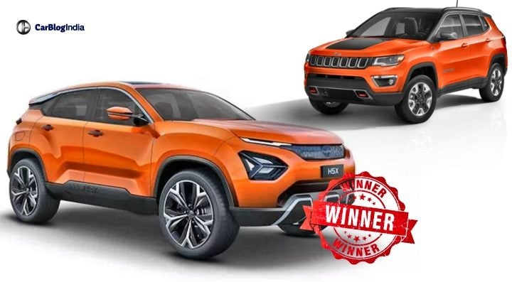 tata harrier jeep compass image