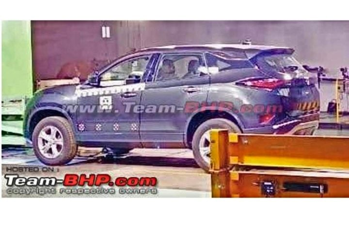 tata harrier leaked image