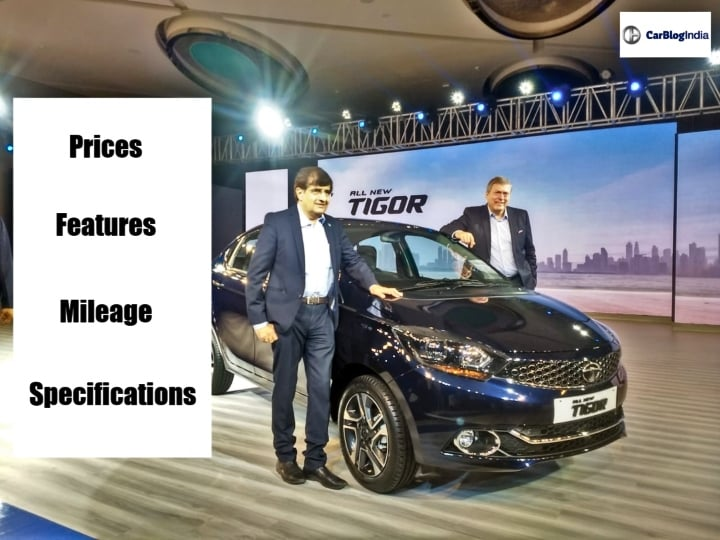 2018 Tata Tigor Facelift launched in India- Get Prices, Features and Specs