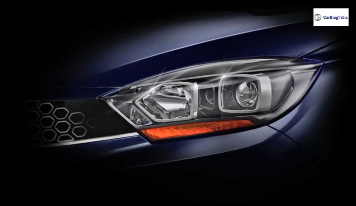Tata Tigor Facelift teased ahead of launch on October 10