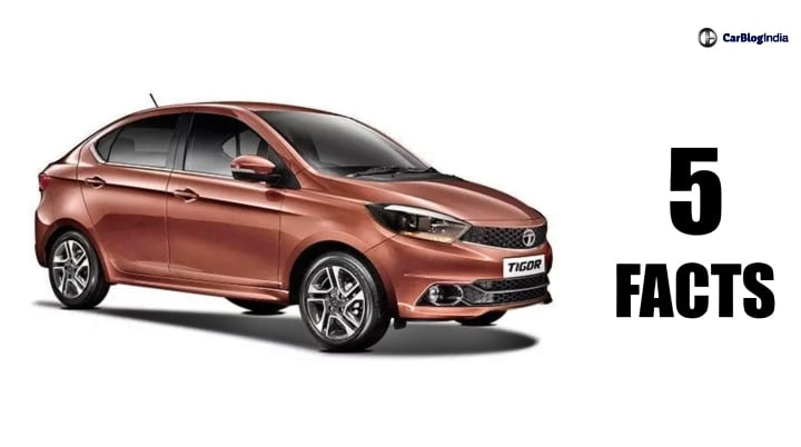 Tata Tigor Facelift- Five Things You Need To Know