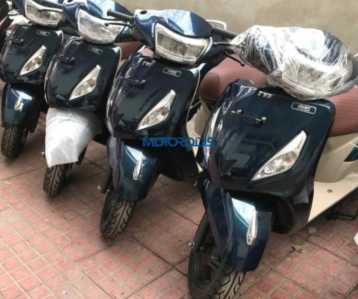 TVS Jupiter Grande Edition to launch in India soon- Spy Images