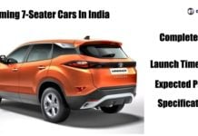 upcoming 7-seater cars in india image
