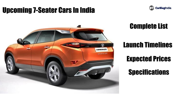 7 Seater Vehicles >> Upcoming 7 Seater Cars in India: Launch Date, Price ...