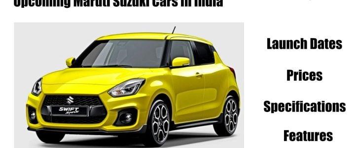 upcoming Maruti Cars image