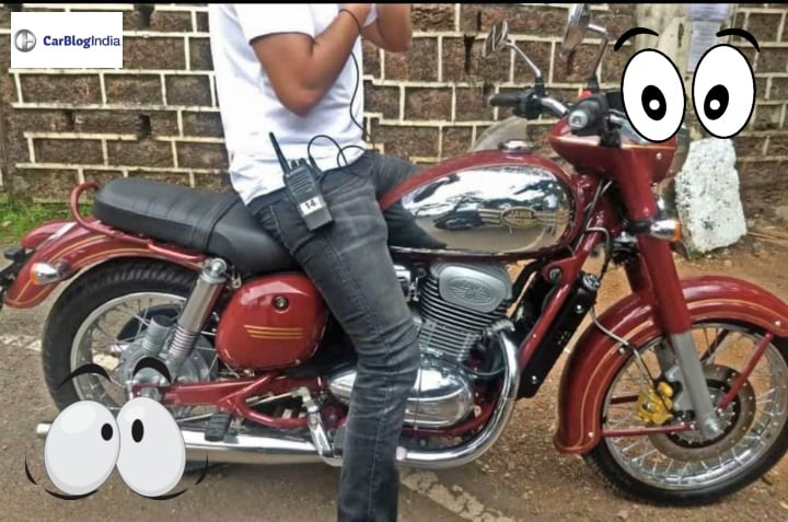 jawa  classic roadster spotted  clear images