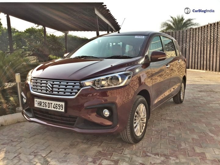2018 maruti ertiga review one image