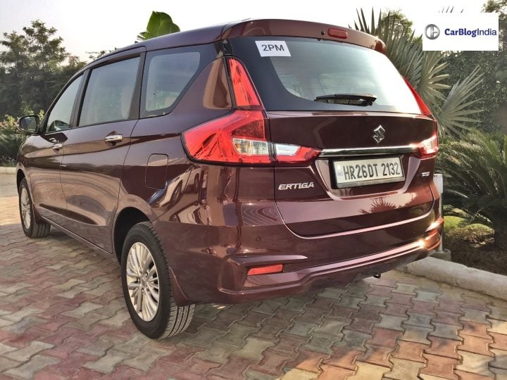 2018 maruti ertiga review three image