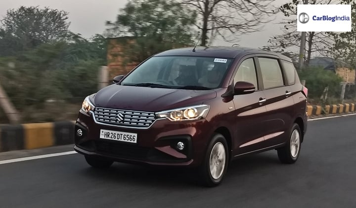 Maruti Suzuki Ertiga sales better than Brezza for May, 2019