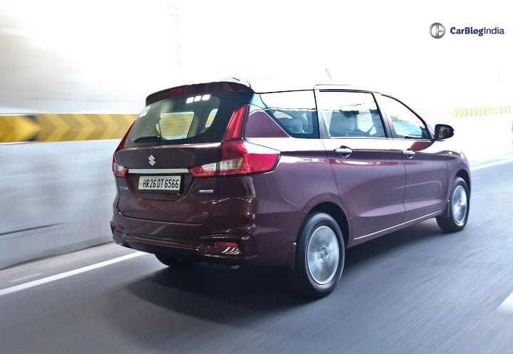 2018 maruti ertiga review twentsev image