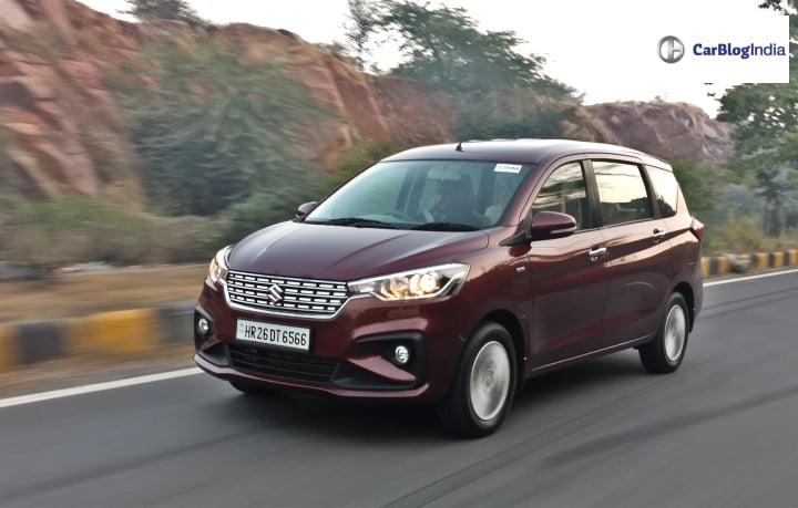 2018 Maruti Ertiga Review: First Drive Report