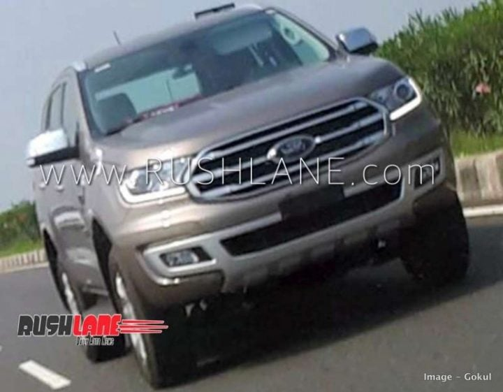 2019 Ford Endeavour Facelift