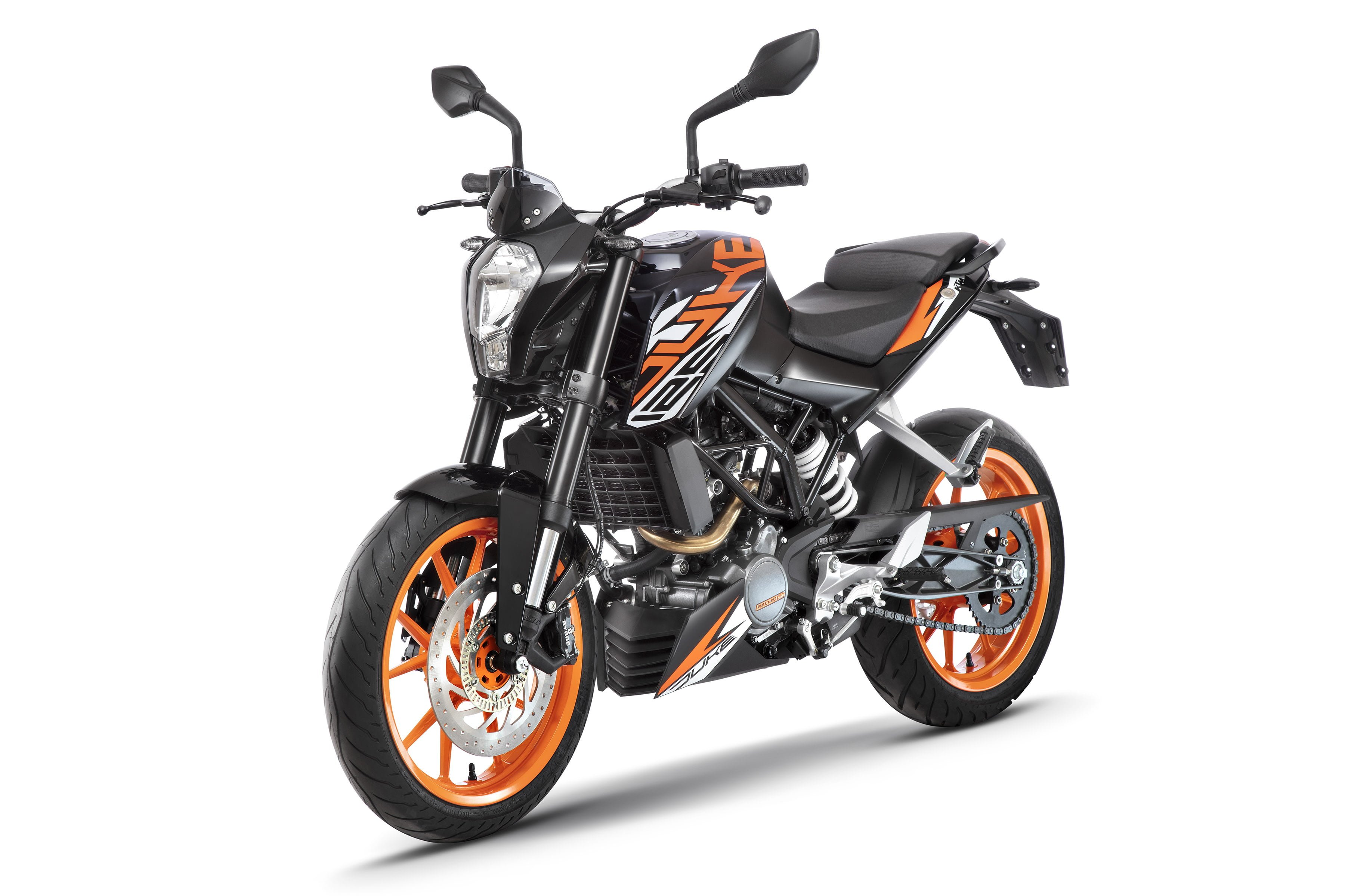 ktm duke 125 abs launched in india prices at inr lakh. Black Bedroom Furniture Sets. Home Design Ideas