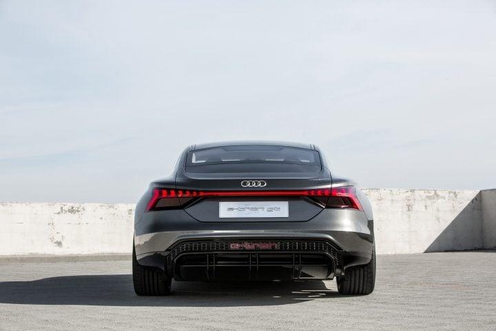 Audi e-tron GT concept rear image