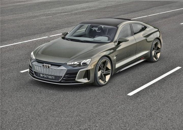Audi e-tron GT concept image