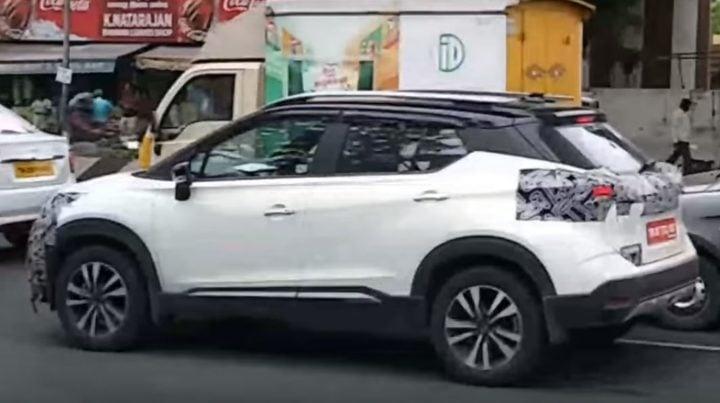 Nissan Kicks Spy