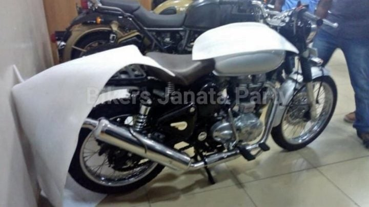 Royal Enfield Scrambler 500 side image