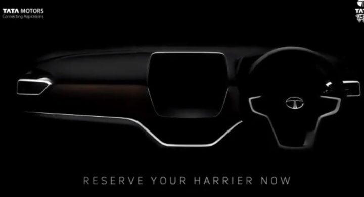 Tata Harrier Interiors