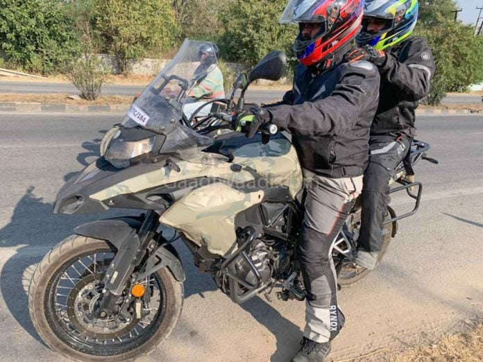 Benelli TRK 502 first spy pics out; India launch in 2019