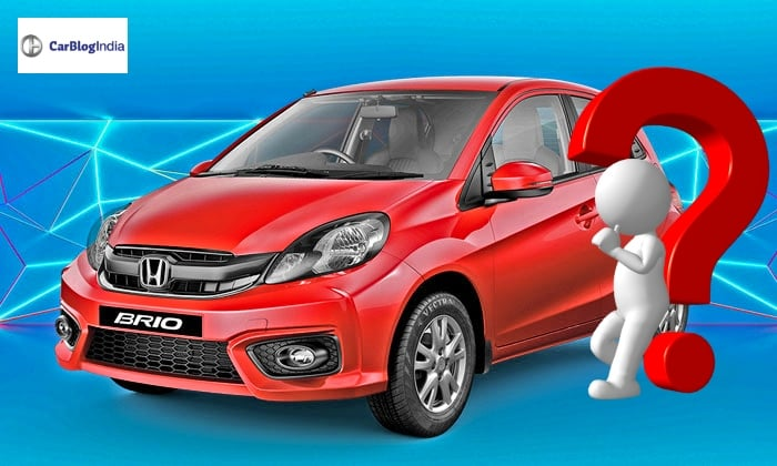 Honda Brio production stopped; no plans to launch new model soon!