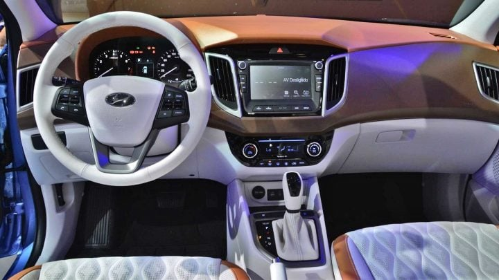hyundai creta diamond edition interiors image