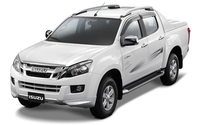 Isuzu V-Cross Jonty Rhodes limited 30 accessory package launched