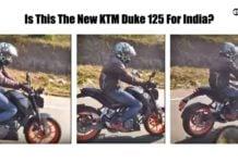 ktm duke 125 india image