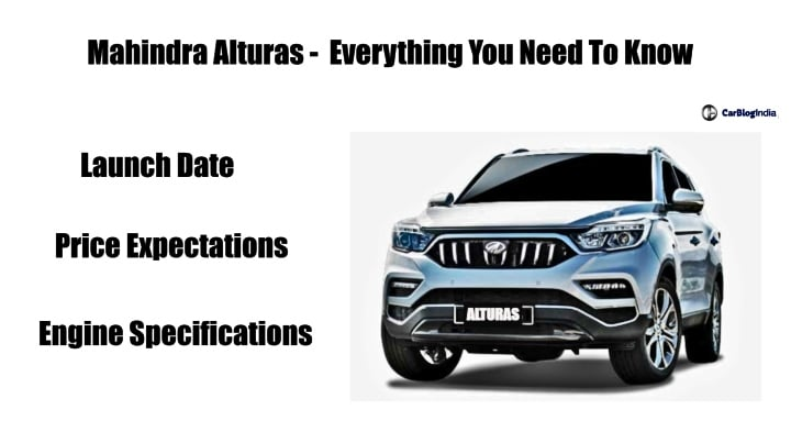 Mahindra Alturas India Launch Date Prices Specs And