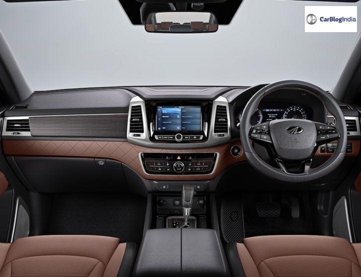 mahindra alturas interiors dashboard image