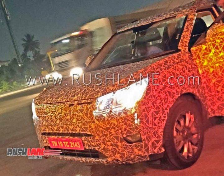 mahindra s201 front spy image