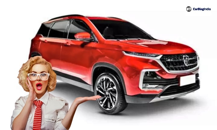 mg suv for india image