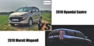 2018 hyundai santro vs new maruti wagonr 2019 image