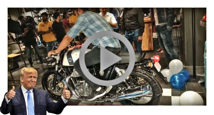 Continental GT 650 video image