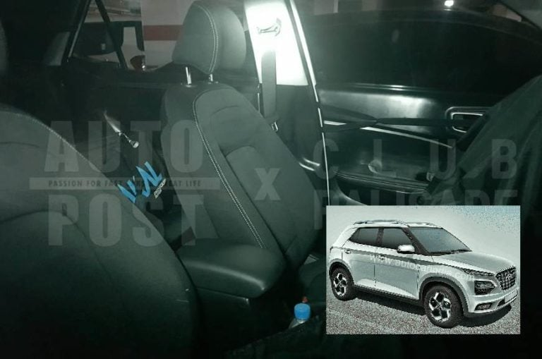 Hyundai QXi (Carlino) Compact SUV interiors spied for the first time