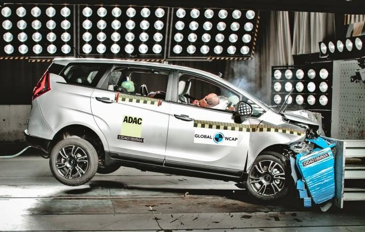 Mahindra Marazzo scores 4 Stars in Global NCAP safety tests!