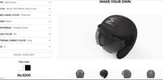 Royal Enfield personalization helmets