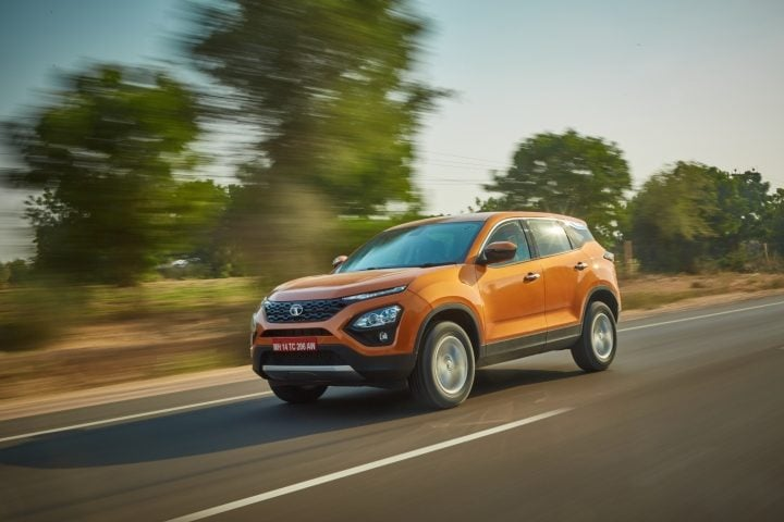 Tata Harrier Motion