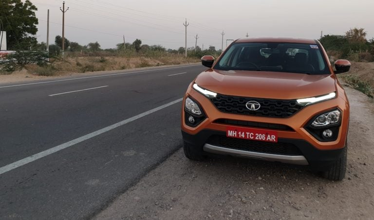 Tata Harrier Automatic version with Sunroof coming soon!