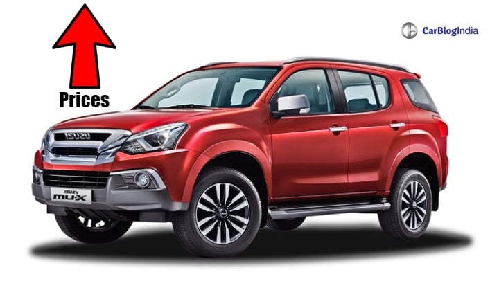 Isuzu D-Max and MU-X prices to go up soon!