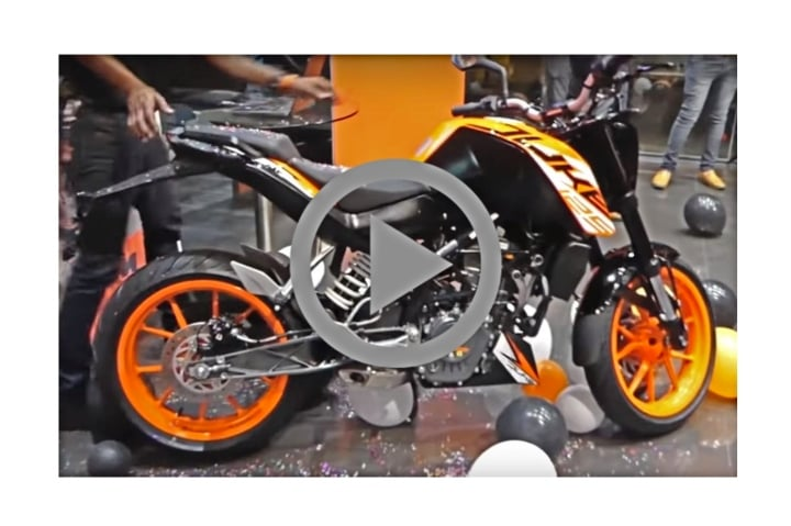 ktm duke 125 video bike