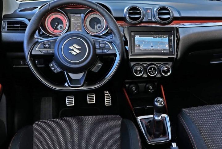 maruti swift rs interior image