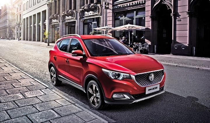 mg suv india image