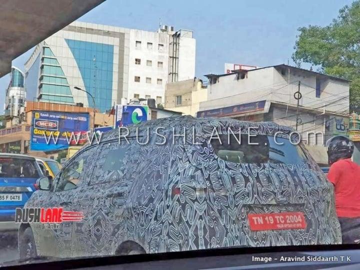 2018 Maruti Ertiga rival Renault RBC 7-seater spotted testing