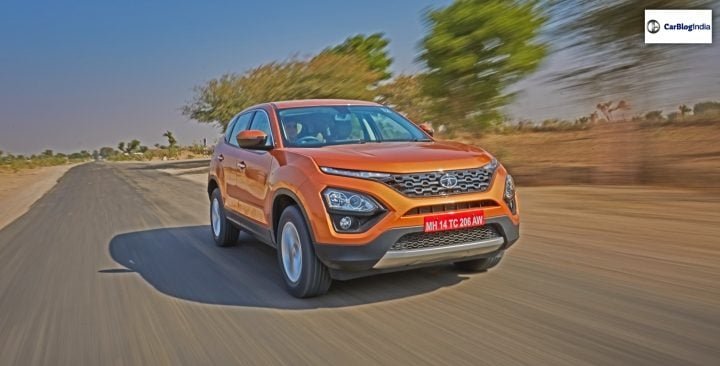 tata harrier review tracking image