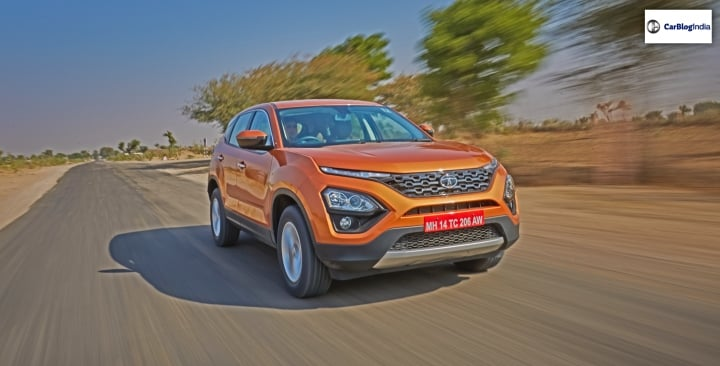 Tata Harrier posts 1,449 sales for the month of February 2019!